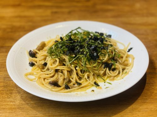 Amaranthus-wafu-pasta